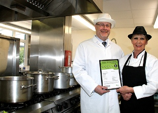 Five star food hygiene hold Colnbrook School in South Oxhey