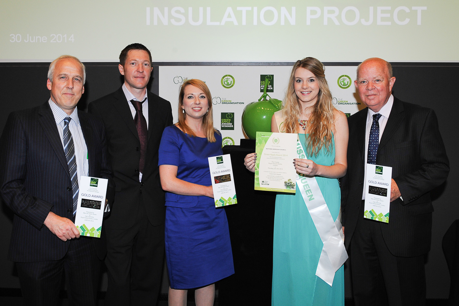 Gold Award for Warmer Home Scheme