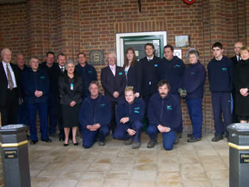 West Herts Crematorium staff