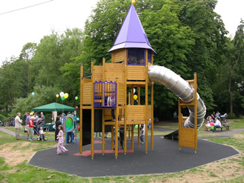 Ebury Play Area at Rickmansworth Aquadrome.