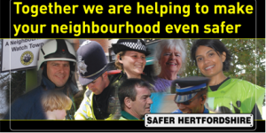 Together we are helping to make your neighbourhood even safer