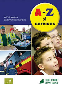 Front cover of A-Z directory
