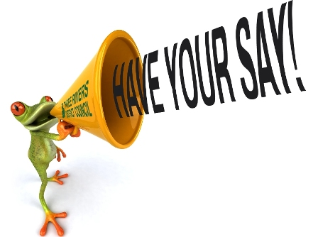 Have Your Say E-Newsletter - April