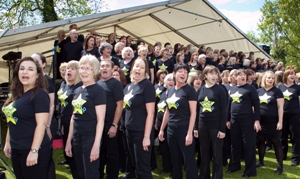 Rock Choir at Rickmansworth Festival