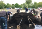 Residents drawn by free compost giveaway