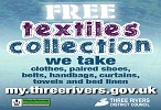 Three Rivers Free Kerbside Textiles Collection