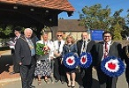 The annual Battle of Britain Parade in Abbots Langley