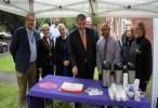 Rickmansworth residents join team of volunteers to celebrate improved shared space
