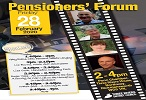 Three Rivers District Council's Pensioners' Forum showing a local film