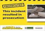 Fly Tipper Prosecuted by Three Rivers