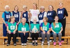 William Penn Leisure Centre walking netball class celebrates anniversary