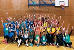 'Huge buzz' at netball festival at William Penn Leisure Centre in Rickmansworth
